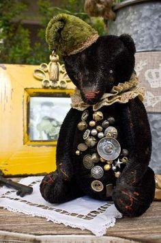 Teddy bear, named Tony. by By Kulpina Anastasia   Bear Pile