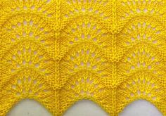 Rainbow cool knitting pattern