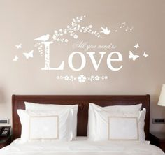 Hey, I found this really awesome Etsy listing at https://www.etsy.com/uk/listing/270632397/all-you-need-is-love-quote-vinyl-wall