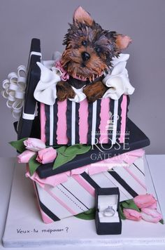 Proposal for marriage - Cake by rosegateaux
