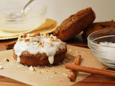 Pumpkin Spiced Donuts : Multiply Delicious- The Food