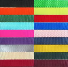 """Heavy Nylon Webbing available in ½"""", 5/8"""", ¾"""", 1"""", 1 ½"""" and 2"""" Widths. In lots of 1 yard, 5 yards, 10 yards, 20 yards and 50 yards. >>> Click image to review more details."""