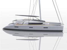 Eco-friendly Catamaran Concept