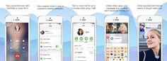 Screenshots of the Zangi messenger app!