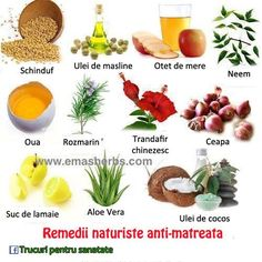 Remedii naturiste anti-matreata