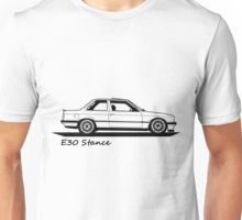 E30 Stance T-Shirt Unisex