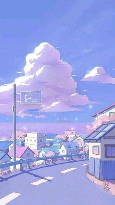 Cute Pastel Wallpaper, Cute Patterns Wallpaper, Cute Anime Wallpaper, Wallpaper Iphone Cute, Soft Wallpaper, Glitter Wallpaper, Disney Wallpaper, Anime Backgrounds Wallpapers, Anime Scenery Wallpaper