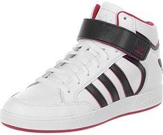 adidas Herren Sneaker Varial MID Ftwr White/Core Black/Scarlet 48 - http: