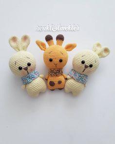 Crochet Books, Love Crochet, Diy Crochet, Crochet Toys Patterns, Stuffed Toys Patterns, Baby Puppet, Cat Crafts, Soft Dolls, Amigurumi Doll