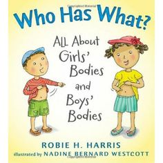 Who Has What?: All About Girls' Bodies and Boys' Bodies - A charming picture book for preschoolers following the story of two siblings and the inquisitive questions they have about their differences. Packed with lots of useful information and a great resource to discuss the topic of having perfectly normal, healthy bodies.