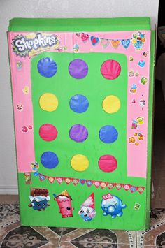 Here is a personal one!  My daughter is in love with Shopkins... Like most three to thirty-year old, normal person would!  Those things are ...