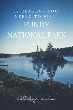 12 Reasons You Need to Visit Fundy National Park Canada National Parks, Parks Canada, East Coast Canada, New Brunswick Canada, East Coast Road Trip, Prince Edward Island, Family Adventure, Canada Travel, Highlands