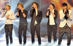One Direction at X Factor
