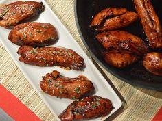 Honey Balsamic Chicken Tenders. Incredibly easy weeknight dinner staple! Rich blend of balsamic, honey, and garlic.