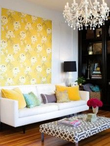 Yellow Eclectic Living Room Design: http://www.myhomerocks.com/2012/01/contemporary-eclectic-living-rooms/