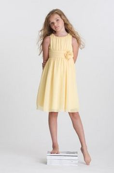 A yellow one... there's also some other sweet/simple dress pics on this post from US Angels but I think they might be older styles and not available any more..