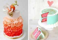 Оригинальный свадебный торт 2013