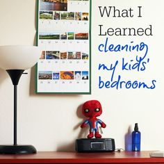 What I Learned Cleaning My Kids' Bedrooms | Life as Mom  Cleaning my kids' bedrooms wasn't on the top of my list of fun things to do, but it turned out to be a liberating experience for all of us. And I learned so much about my sweet people.    http://lifeasmom.com/2015/10/what-i-learned-cleaning-my-kids-bedrooms.html