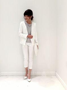 13 件のおすすめ画像ボードジャケット 白 Feminine Fashion
