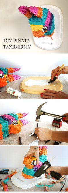 DIY Taxidermy Piñata Tutorial