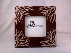 Brown Sea Fan Frame by chutneyblakedesigns on Etsy, $29.50