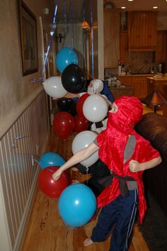 Ninja party games
