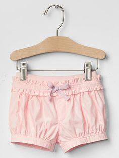Ruffle-trim bubble shorts Product Image