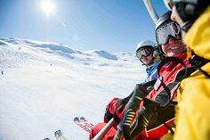 Skigebiet Ratschings-Jaufen in Südtirol. Natürlich werden hier auch Anfänger und Kinder bei gut ausgebildeten Skilehrern im Skikindergarten betreut. Bei super Wetter in Südtirol nicht wie los ins Skigebiet Ratschings-Jaufen.
