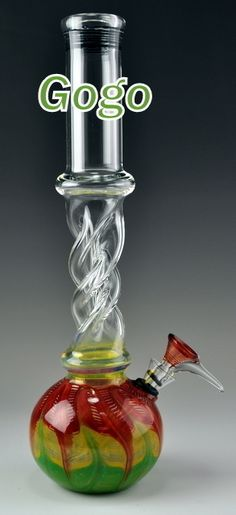 Rasta Glass Water Pipes WP1778 - Glass Pipes.
