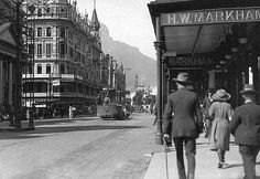 Adderley Street 1920  Flickr - Photo Sharing! Old Pictures, Old Photos, Vintage Photos, Back In Time, Back In The Day, Provinces Of South Africa, Cape Town South Africa, Wine Country, 1920s