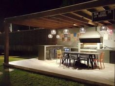 Santiago-quinchos-49 Pergola, Bbq, Outdoor Structures, Outdoor Decor, Home Decor, Pools, Barbecue Grill, Sheds, Design Projects