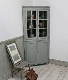 Distressed Georgian Corner Cupboard - For Sale | Distressed But Not Forsaken