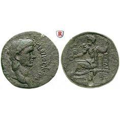 Römische Provinzialprägungen, Kappadokien, Caesarea, Claudius I., Bronze Jahr 5=44/45 n.Chr., ss: Kappadokien, Caesarea. Bronze Jahr… #coins