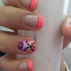 Mandalas en uñas 2018: Diseños y consejos - Mandalas Nail Arts, Nail Designs, Nails, Beauty, Erika, Nail Ideas, Lotus, Women's Fashion, Videos