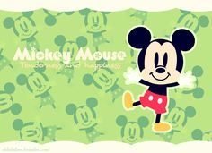 Mickey Mouse by Tamabit on DeviantArt Disney Love, Disney Mickey, Disney Pixar, Cute Mickey Mouse, Mickey Mouse Wallpaper, Movie Characters, Fictional Characters, Disney Quotes, Disney Pictures