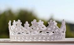 Корона для Принцессы. Схема вязания крючком