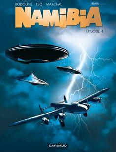 Namibia 4, alerte aux soucoupes volantes - http://www.ligneclaire.info/tome-4-namibia-dargaud-leo-rodolphe-8707.html