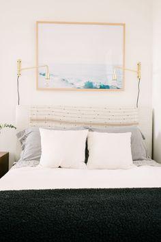 Bright modern bedroom: Photography: Jasmine Pulley - http://www.jasminepulley.com/
