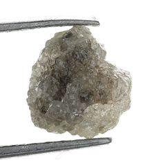 Genuine Diamond Rare Raw Rough Loose Diamond 1.14 Ct Brownish Color
