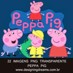 PEPPA PIG IMAGENS PARA MONTAGENS DIGITAIS GRÁTIS - Cantinho do blog Layouts e Templates para Blogger