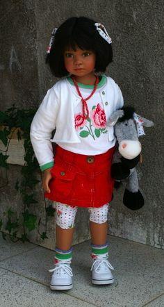 angela strutter dolls   Annerose.....Angela Sutter Dolls