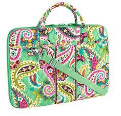 Laptop Portfolio Vera Bradley Love This Print Bag