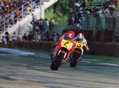 Freddie Spencer y Kenny Roberts