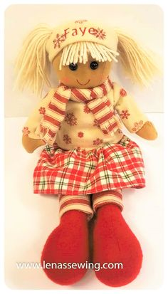 This beautiful doll is a fabulous doll for any girl . Rag Dolls, 1st Christmas, Beautiful Dolls, Teddy Bear, Toys, Animals, Fabric Dolls, Cute Dolls, Activity Toys