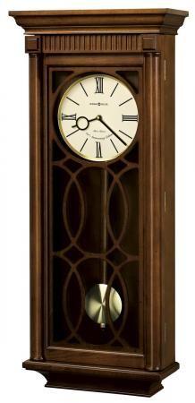 Found it at Clockway.com - Howard Miller Triple Chime Quartz Wall Clock - CHM1968
