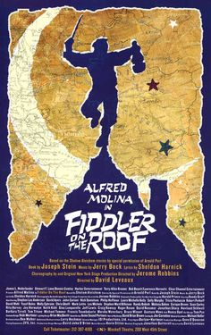 broadway music, grandma moses, colors, roofs, poster, theatr, daughters, fathers, fiddler on the roof broadway