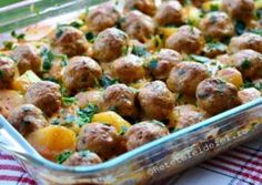 Food And Drink, Ethnic Recipes, Meatball, Easy Meals