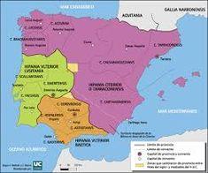 Resultado de imagen de romanización de hispania Iberian Peninsula, Medieval, Old Maps, Empire, Mid Century, Middle Ages