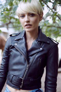 b074c7fe514c 25 jättebra mc jackor bilder | Leather jackets, Biker leather och ...