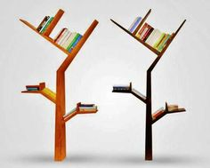 Tree Bookshelves Shelf Bookshelf Modern Design Creative